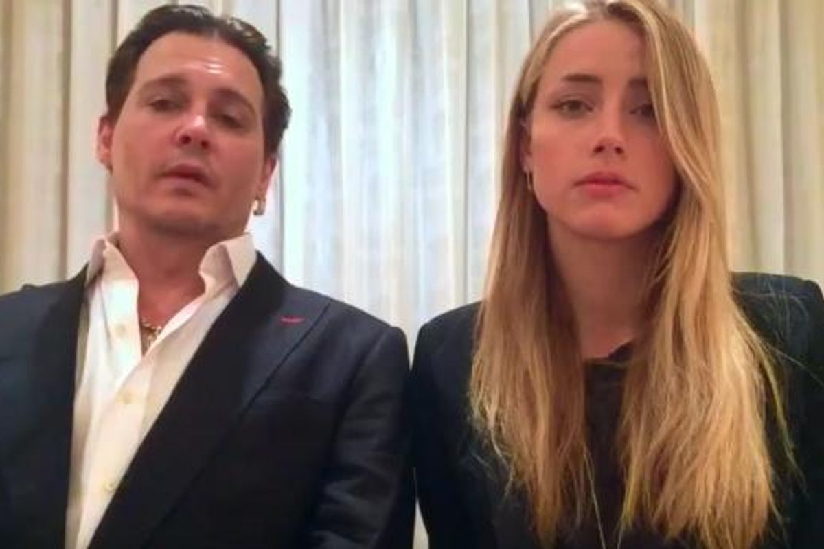 Watch Johnny Depp and Amber Heard's Video Apology to the Continent of Australia