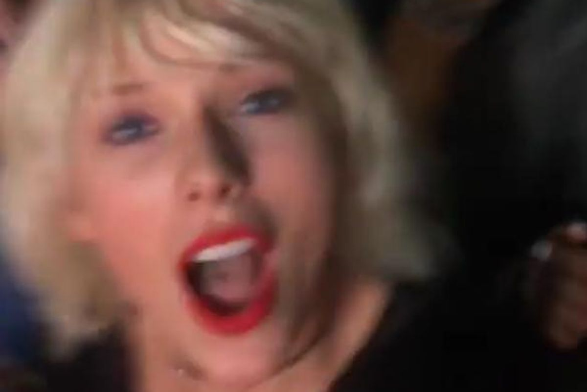 Watch Taylor Swift Freak Out Over Rihanna Singing 'We Found Love' With Calvin Harris