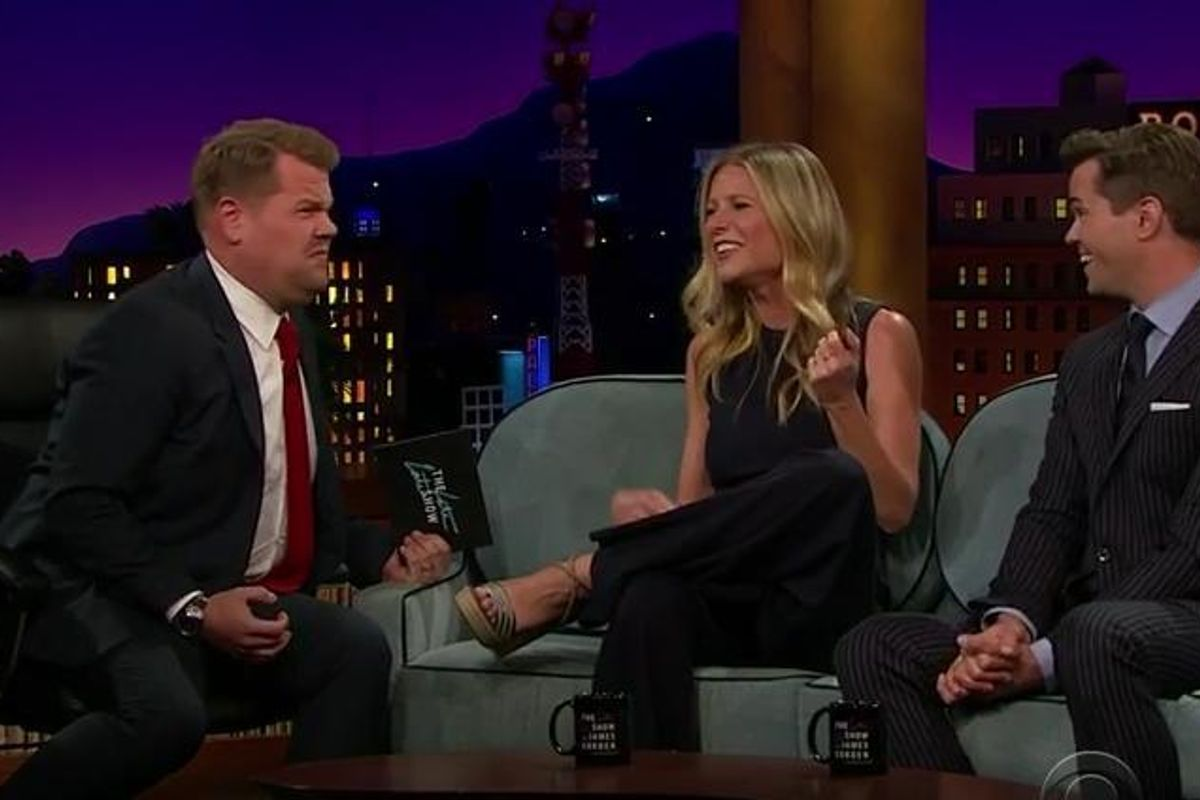 Watch Gwyneth Paltrow Do An AC/DC Guitar Solo...In Her Mouth