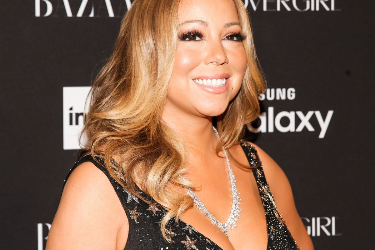 Mariah Carey Made All Her Friends Dress Up As Her For A Party