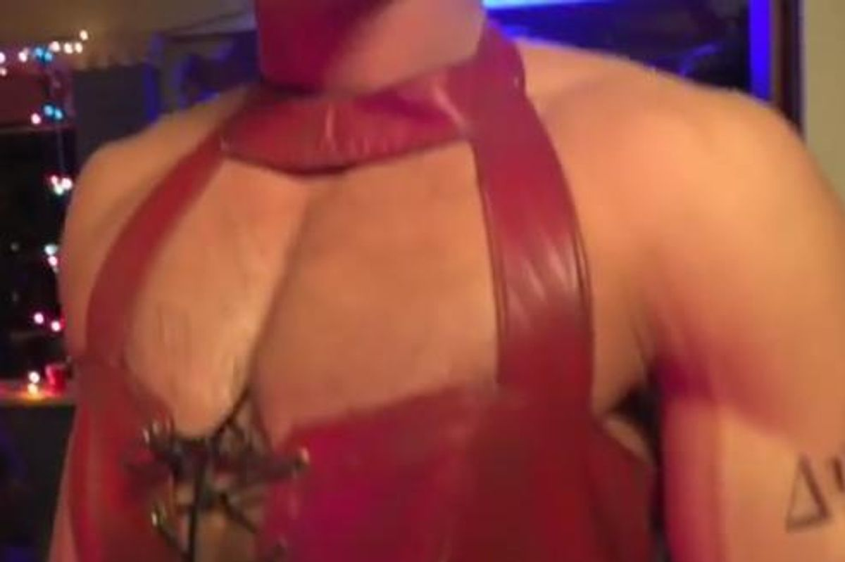ICYMI: Zac Efron Instagramed a Video Of Himself In A Skin-Tight Leather Dress