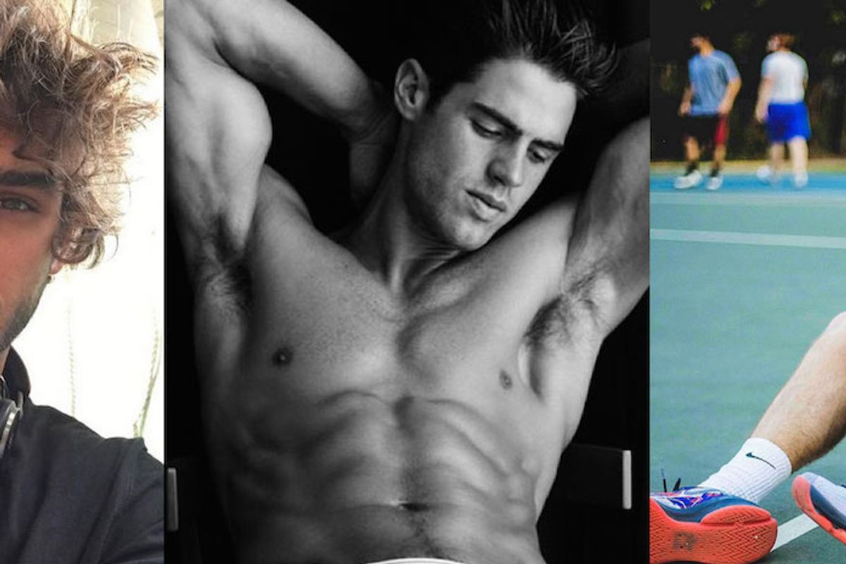 A Guide To Male Models of Instagram Who Mix Sexy Thirst Bait With Inspirational Quotes
