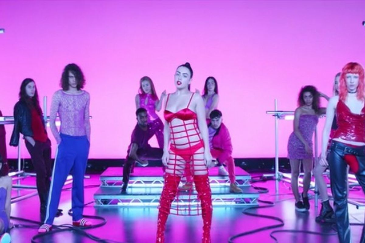 """Charli XCX Takes Us For a Sexy Ride in """"Vroom Vroom"""" Video"""
