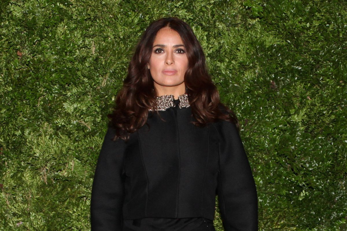 "Salma Hayek On Her New Film ""Tale of Tales"""