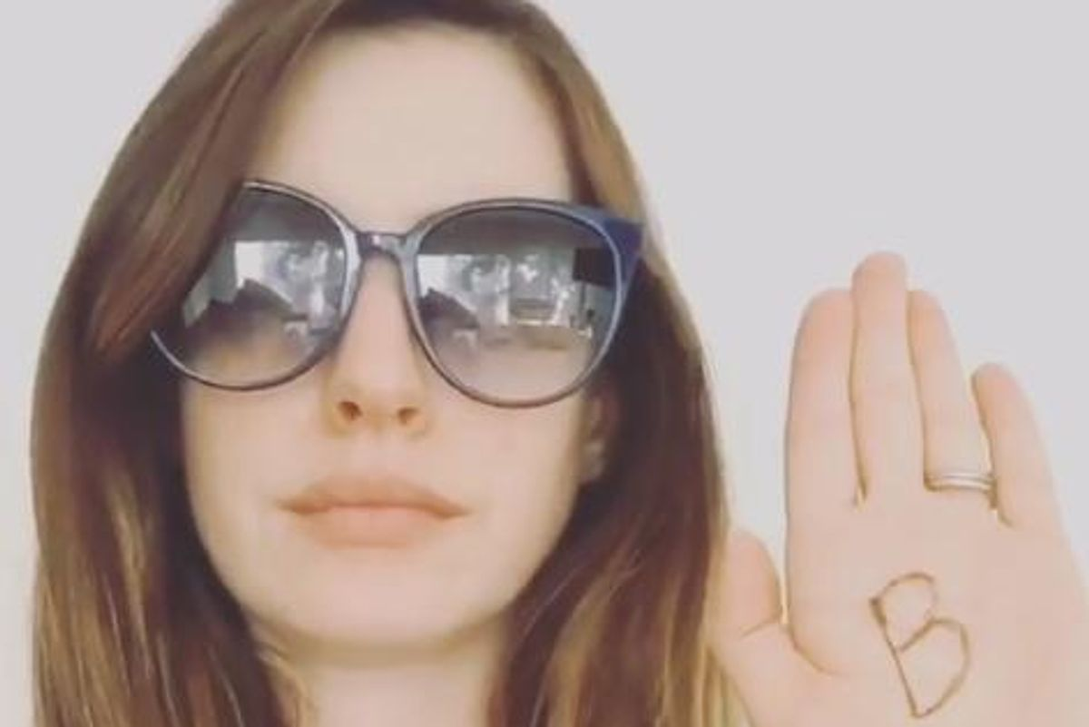 Anne Hathaway Comes Out As A Loyal Member of the BeyHive