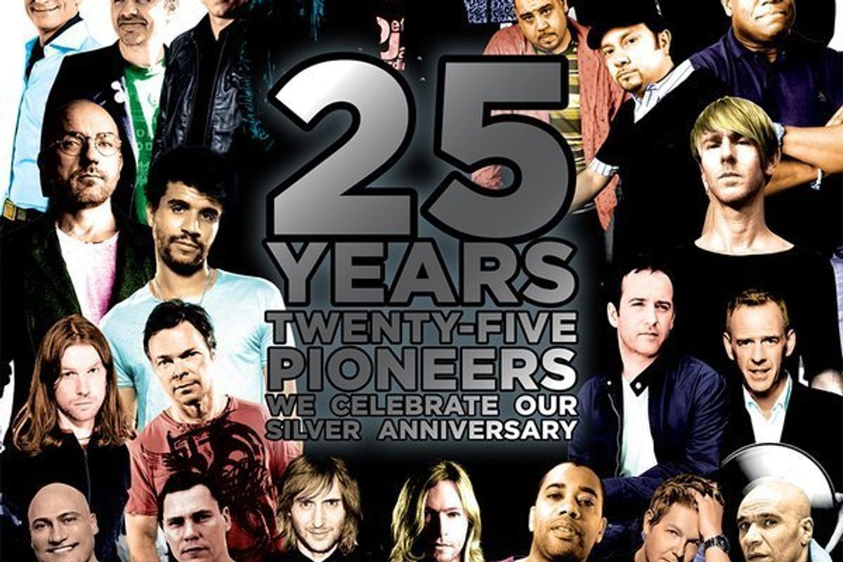 DJ Mag Releases Their List Of 25 Dance Music Pioneers...And They're All Men