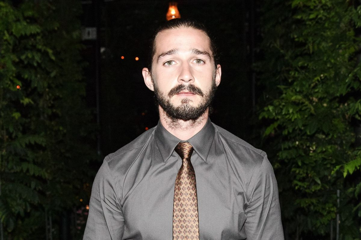 Shia LaBeouf Offers Soup To Doppelgänger Who Was Punched