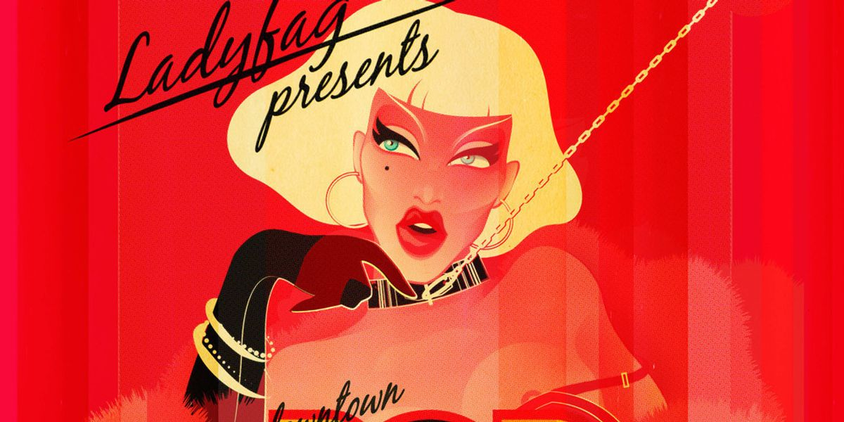 Ladyfag's Pop Souk Pop-Up Shop Party Is Back This Sunday