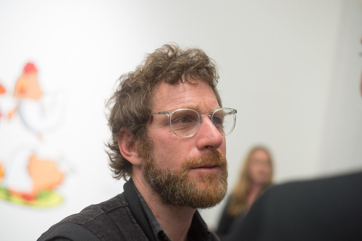 Dustin Yellin Toys With Virtual Reality At Pioneer Works