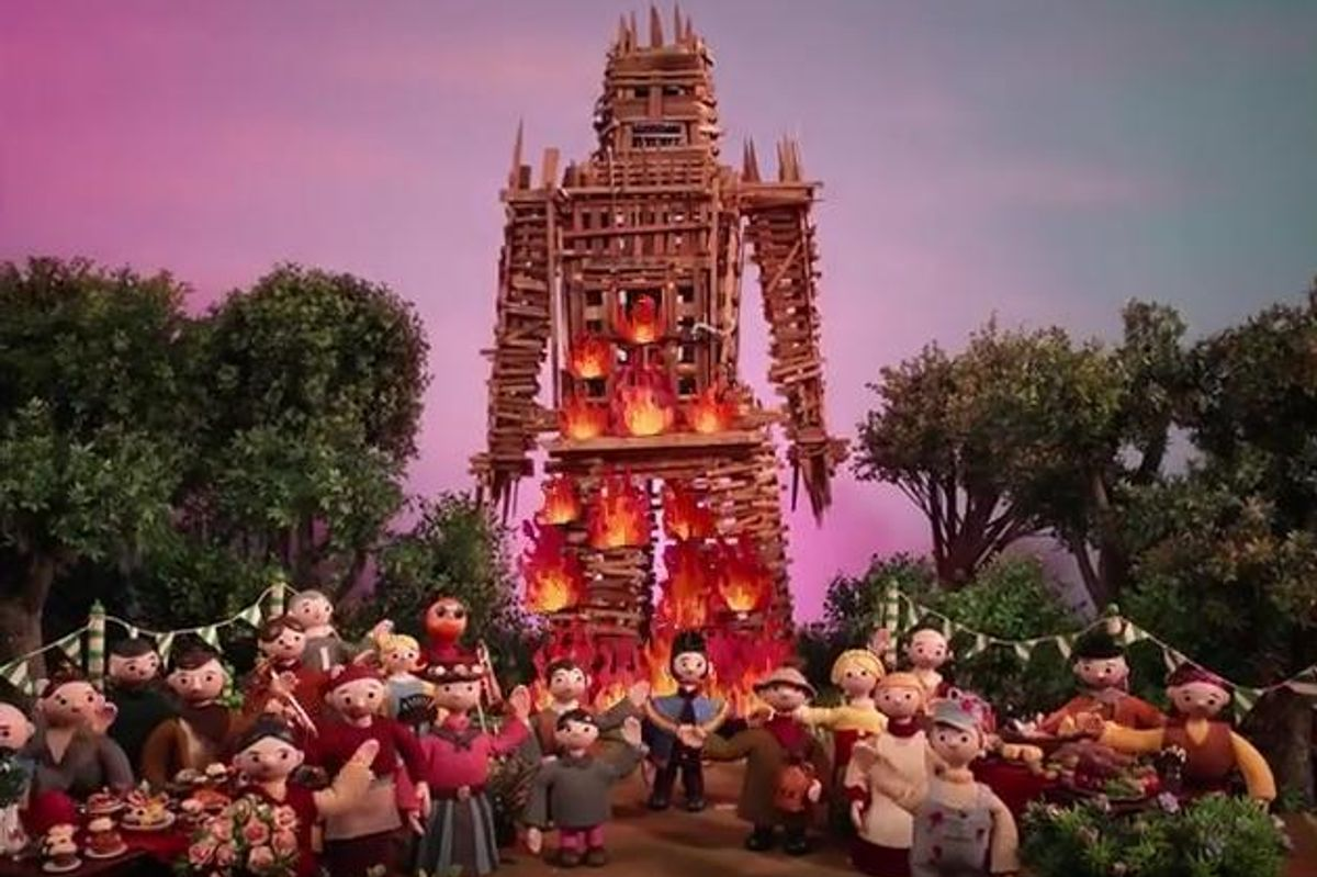 Watch Radiohead's Video For New Song 'Burn the Witch'