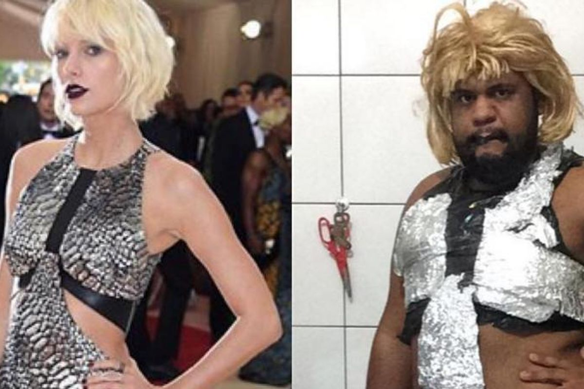 Iconic Blogger Recreates Last Night's Met Gala Looks With Household Items