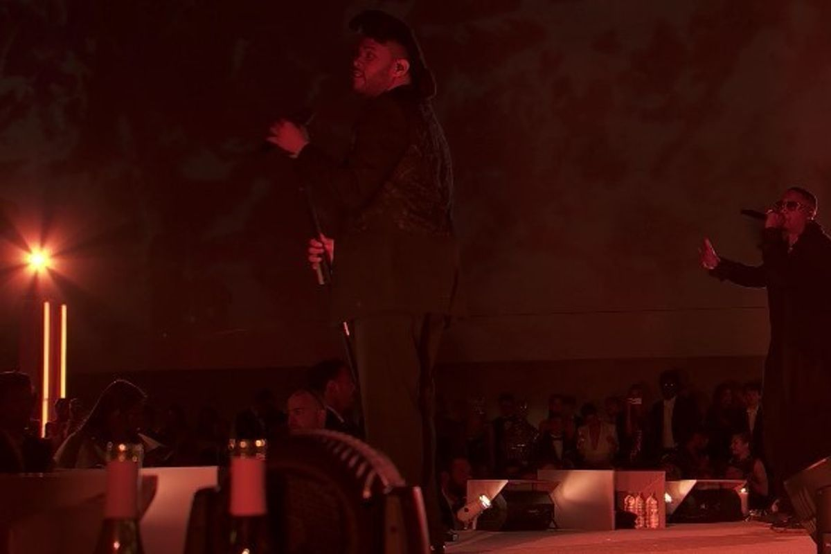 """The Weeknd And Nas Teamed Up For a """"Tell All Your Friends"""" Remix At Met Gala"""