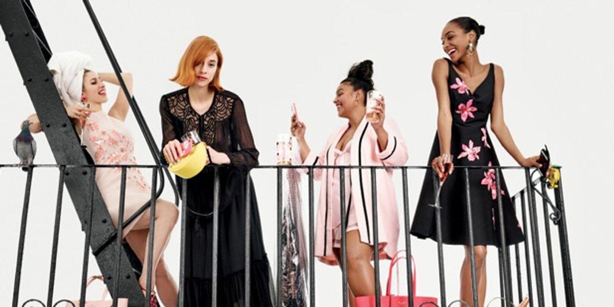 Jourdan Dunn Stars Again in Kate Spade New York Campaign