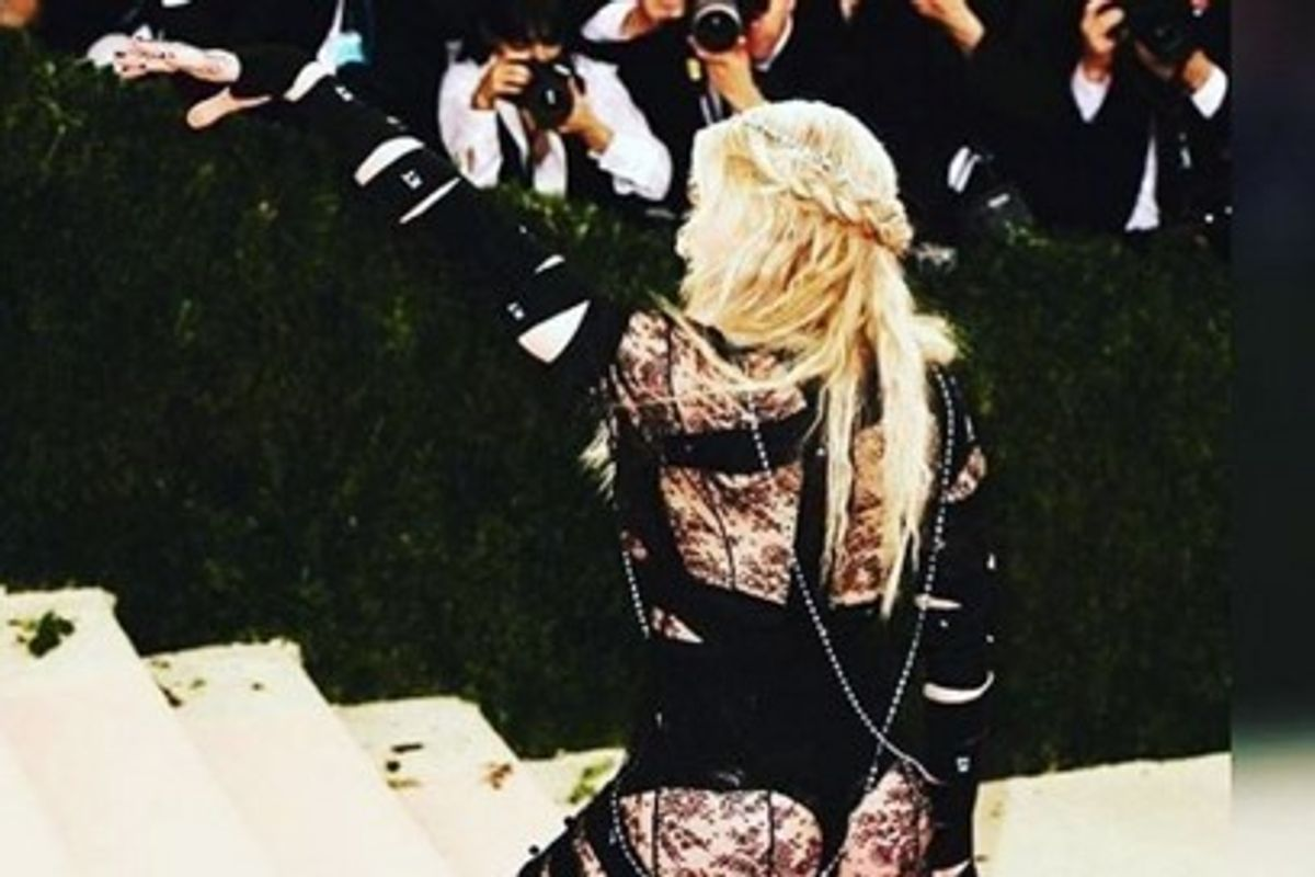 Madonna Claims Met Gala Outfit Was Political Statement