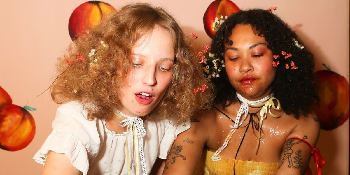 Petra Collins Turns Tiki Style Into Art at Artsy Event
