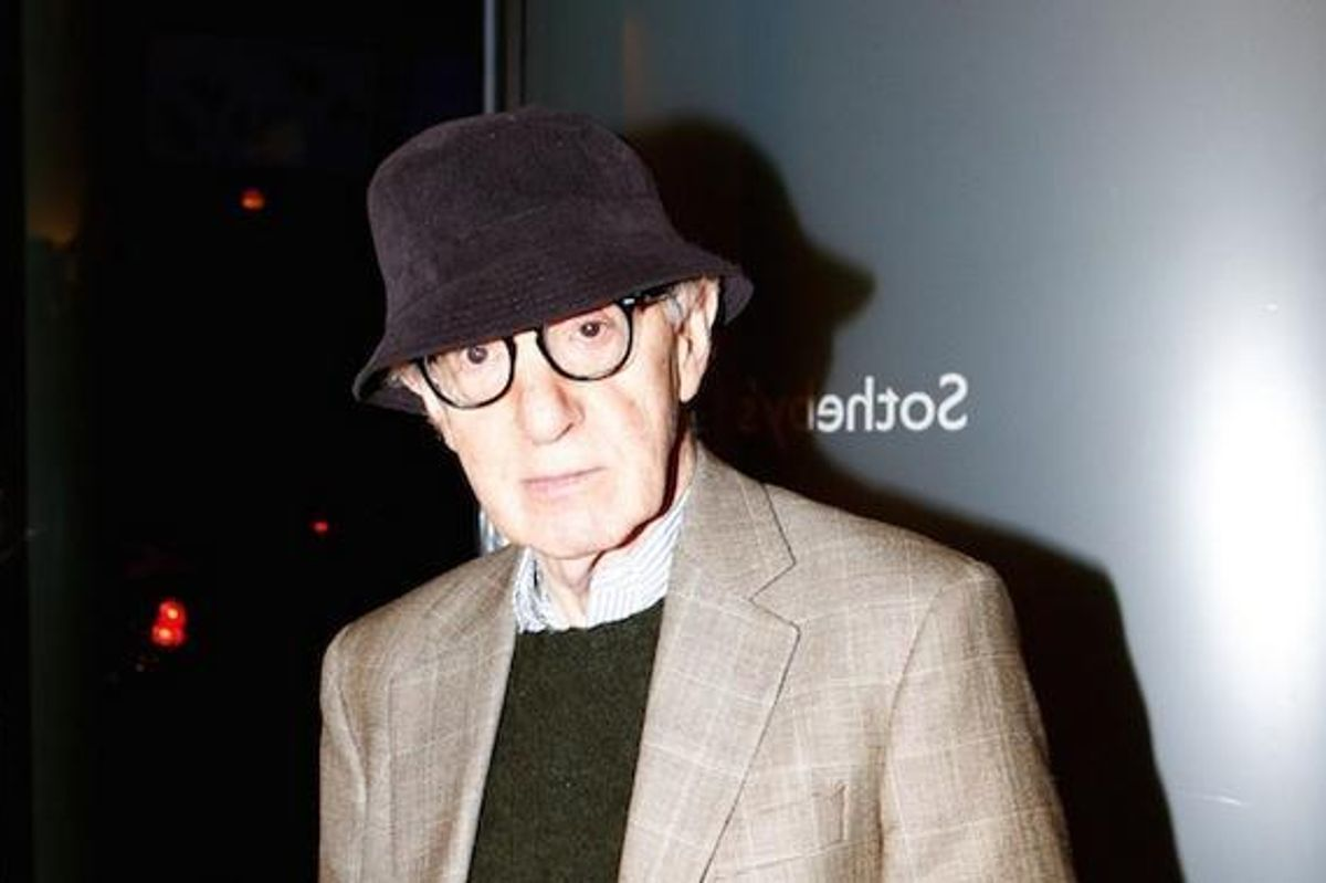 Old White Millionaire, Woody Allen, Complains After Being Mildly Inconvenienced