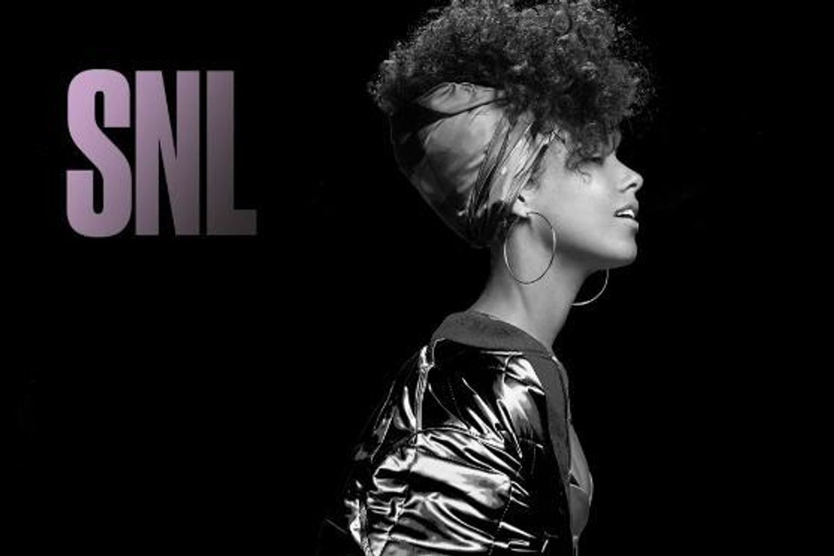 Watch Alicia Keys Perform Her Song Of The Summer Contender On SNL
