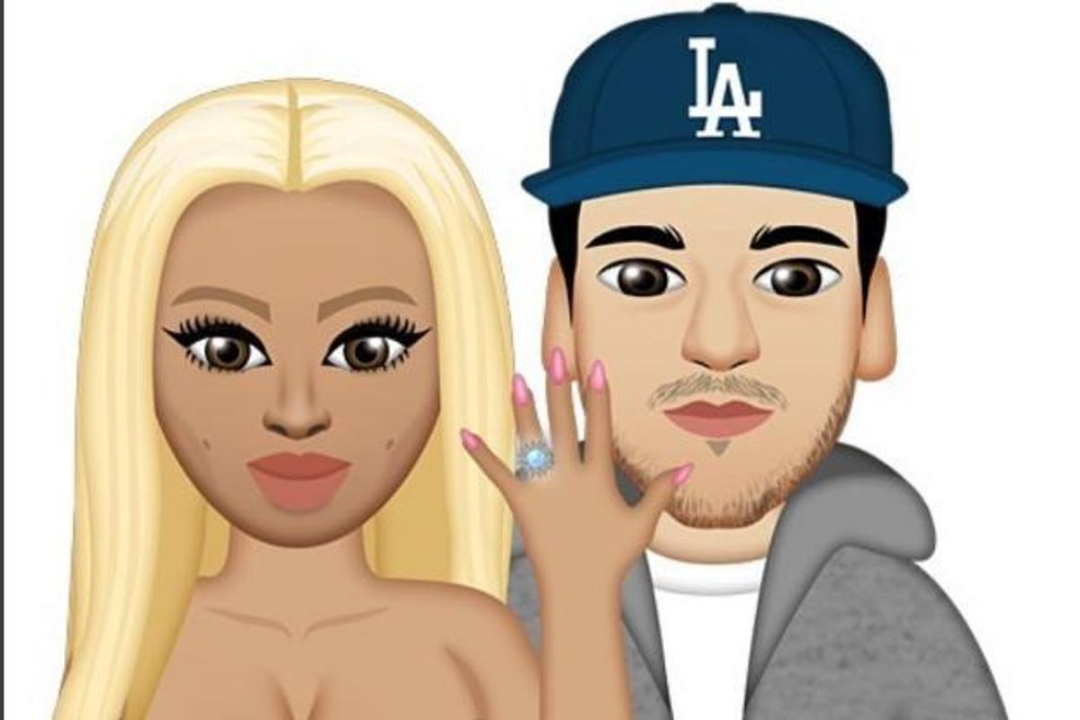 Five Kris-Jenner-Baiting Icons from Blac Chyna's Chymojis