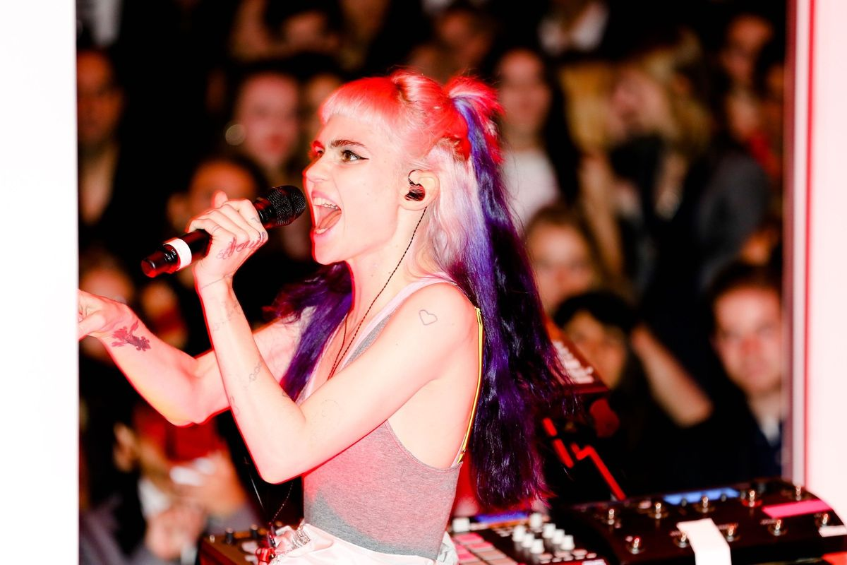 You Can Fully Immerse Yourself in Grimes' Music