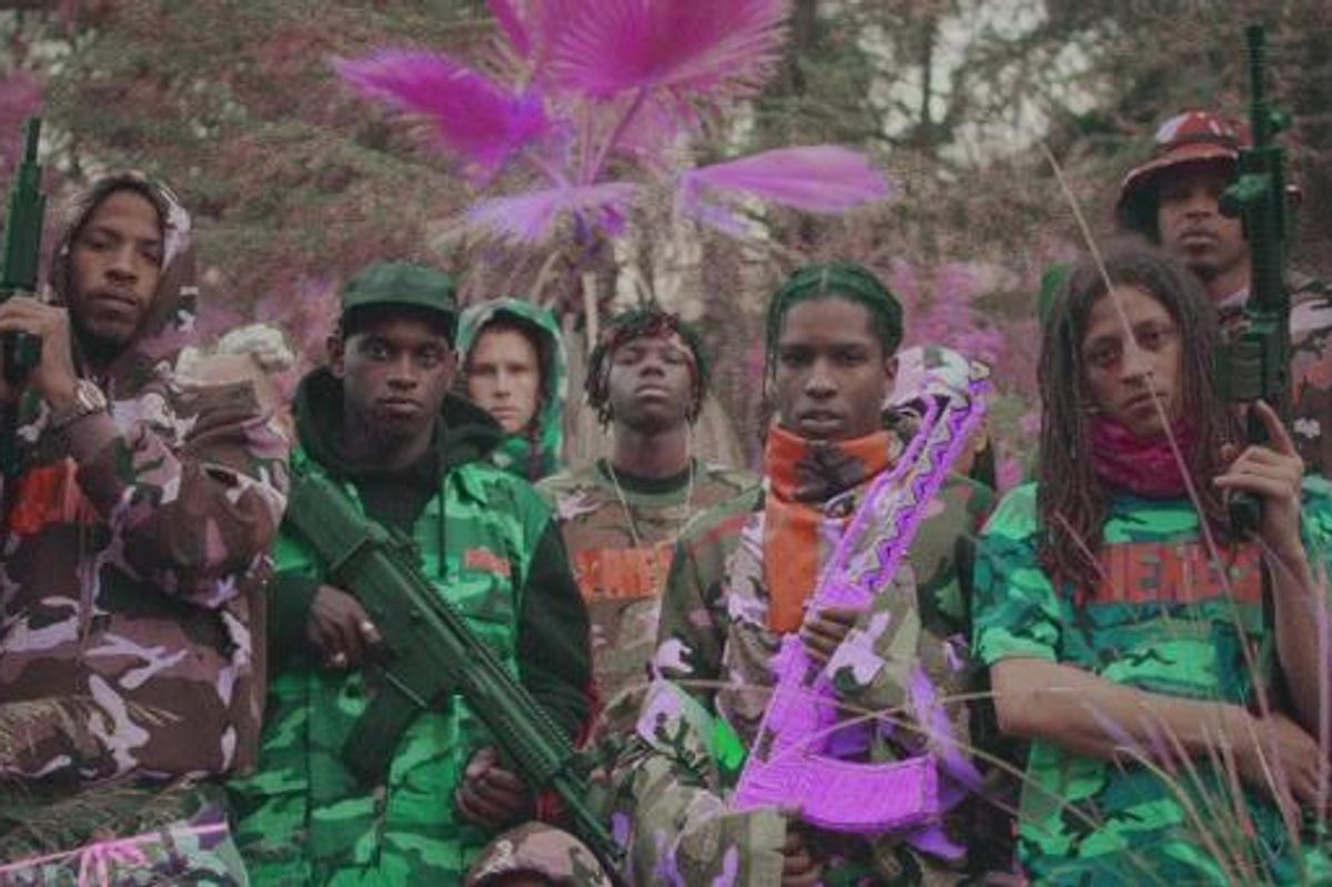 A$AP Mob's Video For 'Yamborghini High' Will Melt Your Brain