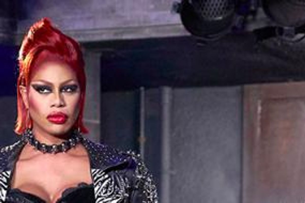 """See The First Image of Laverne Cox As Dr. Frank-N-Furter In """"Rocky Horror Picture Show' Reimagining"""