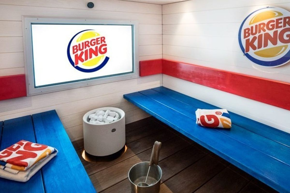 A Burger King In Finland Just Added A Spa. Yes.