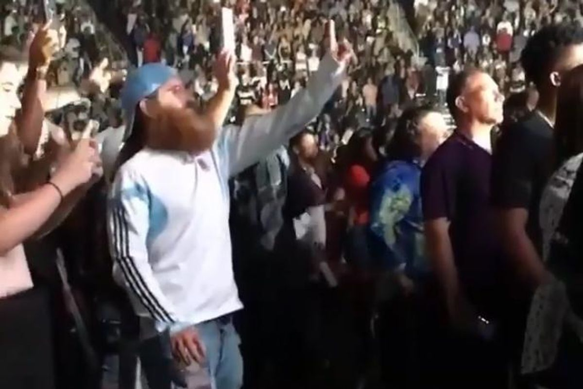 This Bearded Gentleman Losing His Damn Mind at A Rihanna Concert Is All Of Us