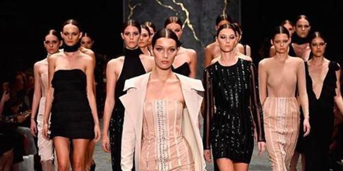 "Australian Fashion Show Closes with All-White Runway Models Walking to ""Formation"""