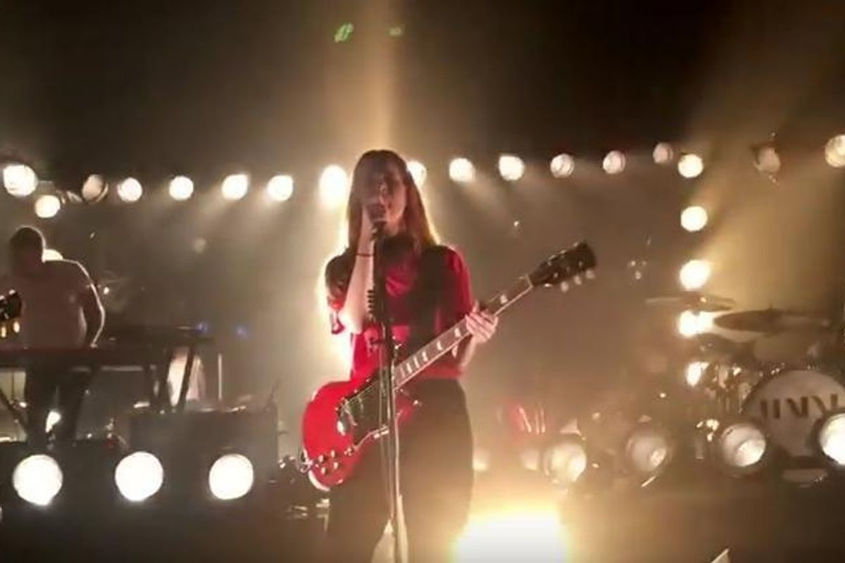Watch Haim Perform Two New Songs, and A Prince Tribute