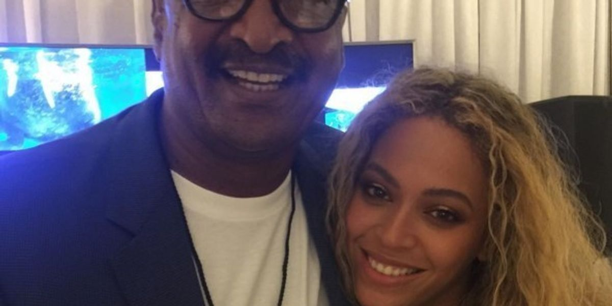 It Looks Like Beyoncé And Her Dad Have Made Peace Post 'Lemonade'