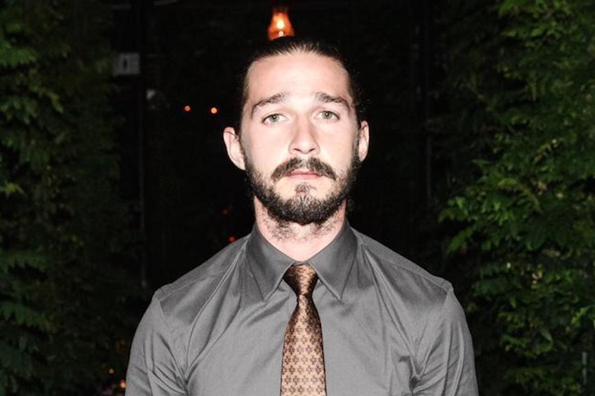 Shia LaBeouf Is Hitchhiking Across America For His Art