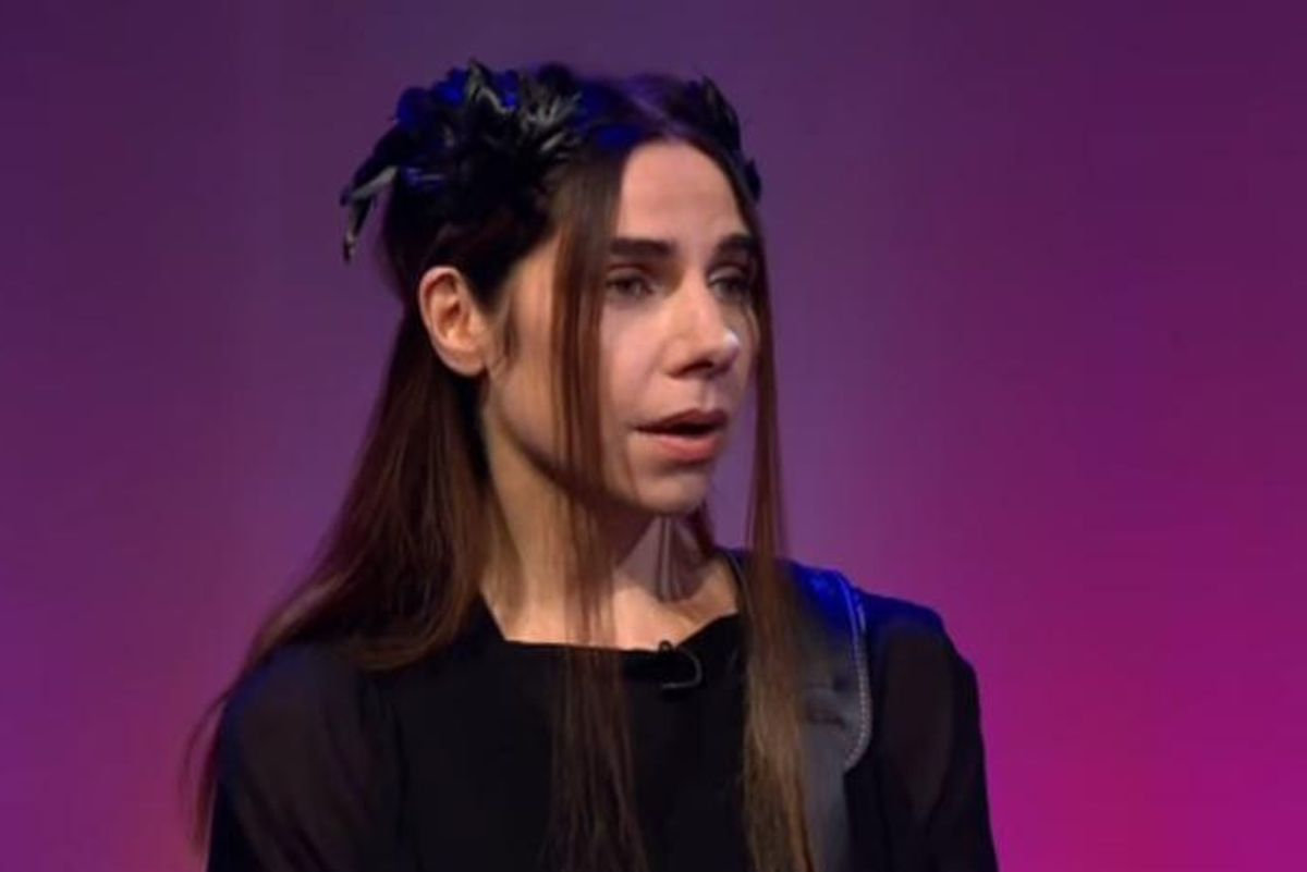 "PJ Harvey Performs ""Community of Hope"" in a Rare TV Performance"