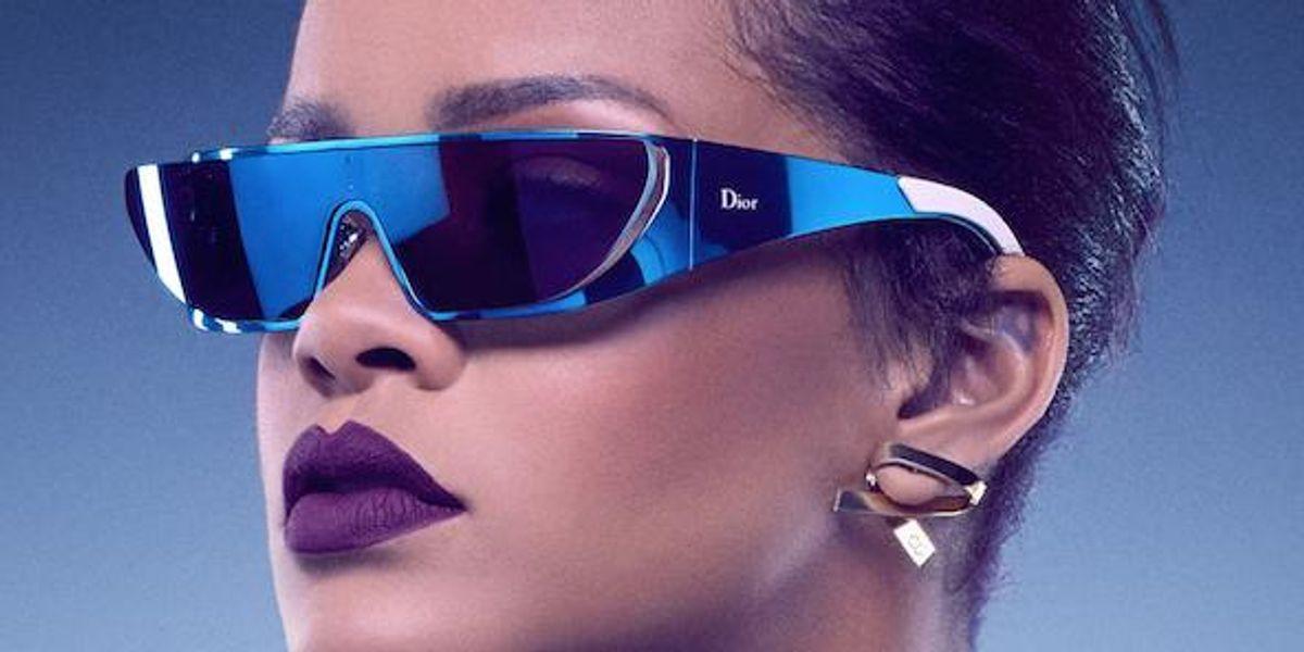 Peep Rihanna's New Star Trek-Inspired Dior Sunglasses, That She Designed Herself