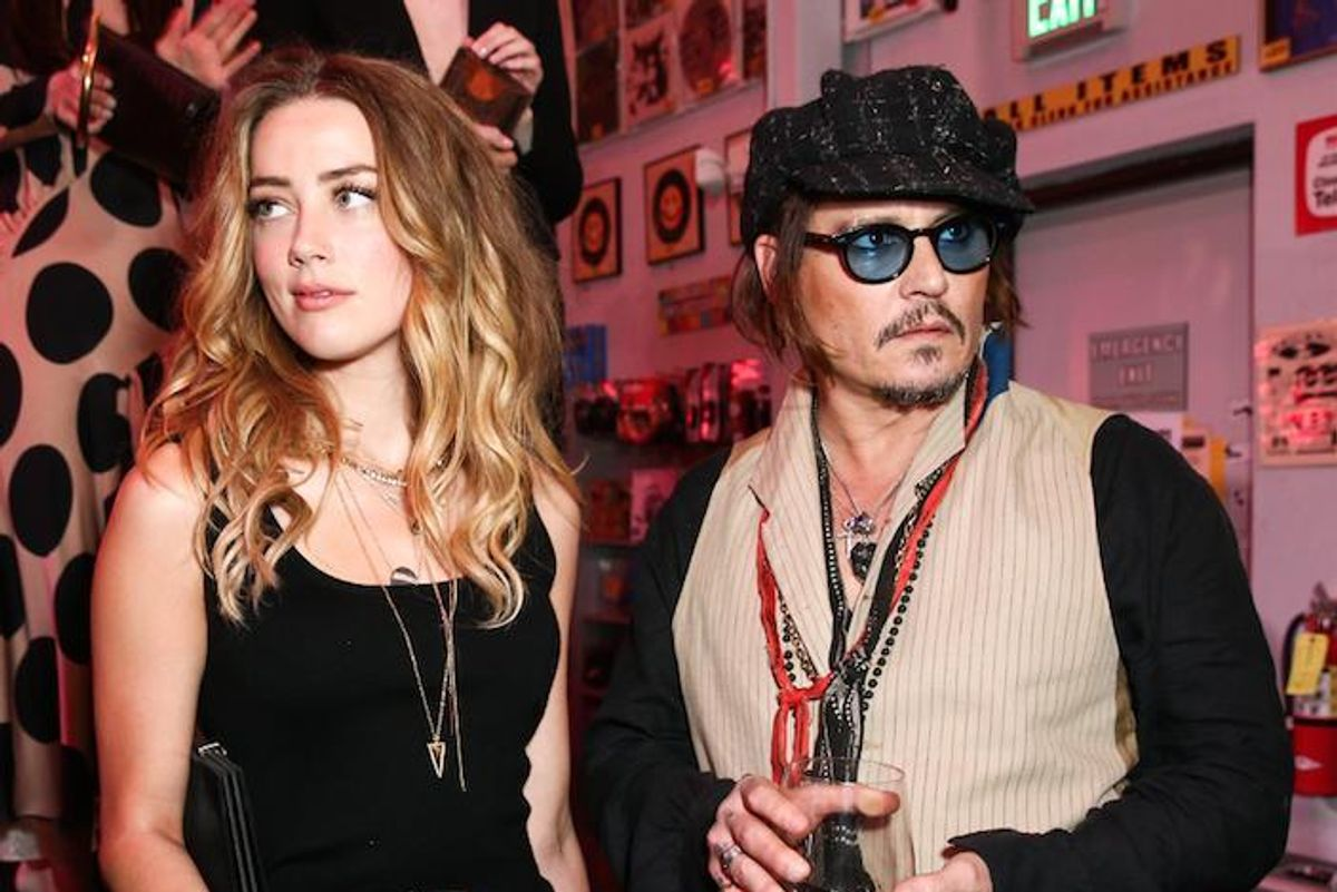 UPDATE: Amber Heard Divorces Johnny Depp Days After His Mother's Death