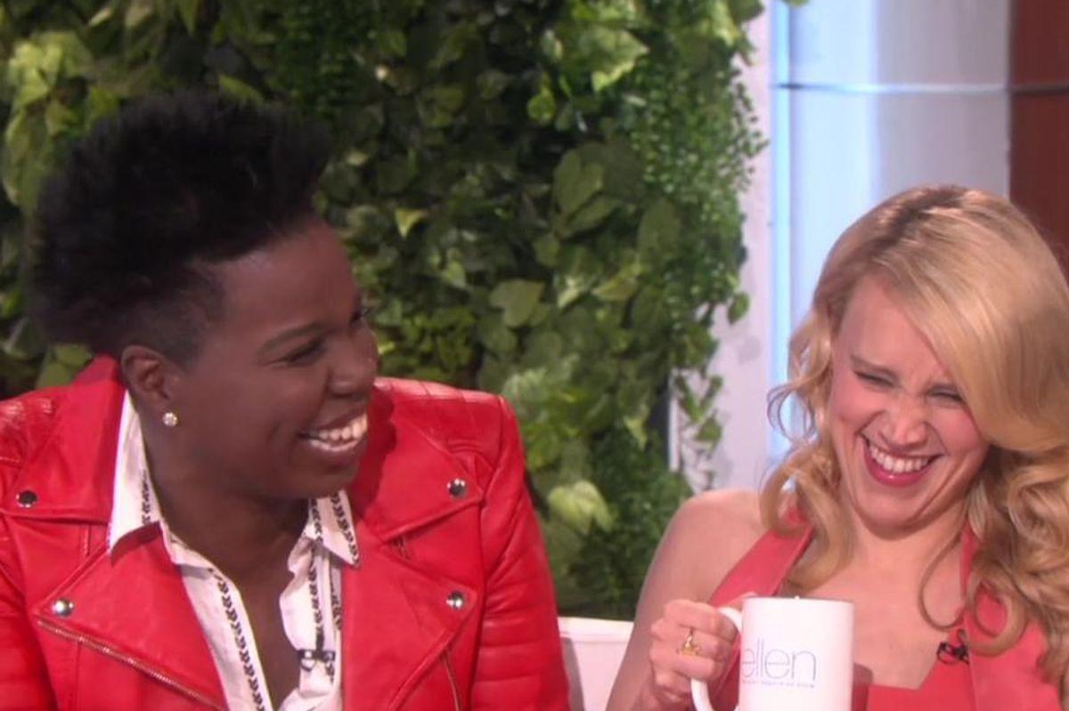Leslie Jones Reveals Her Past As A Telemarketer For Scientology on 'Ellen'