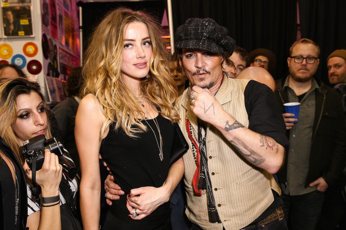 UPDATE: Amber Heard Has Filed A Domestic Restraining Order Against Johnny Depp