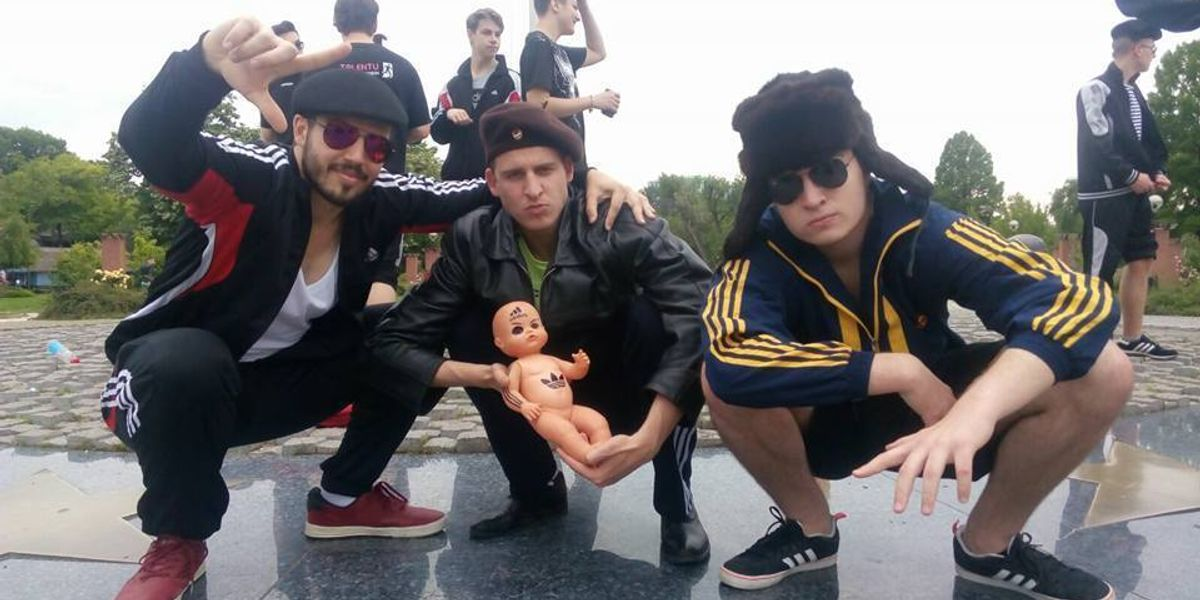 """Meet the Romanian Teen Behind Cult Facebook Page, """"Squatting Slavs in Tracksuits"""""""
