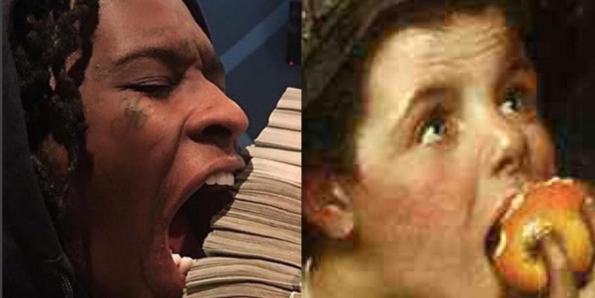 Peep The Amazing Instagram Comparing Young Thug To Classic Artworks
