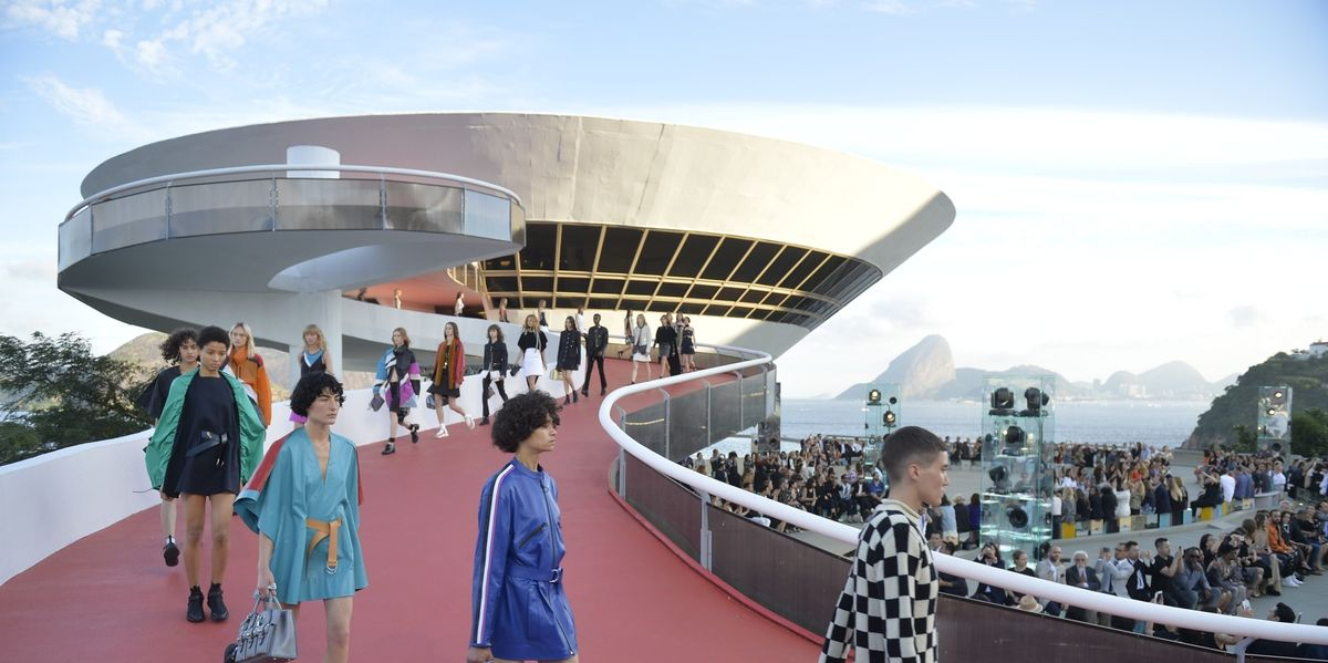 Louis Vuitton Does Brazilian Fantasy for Cruise 2017