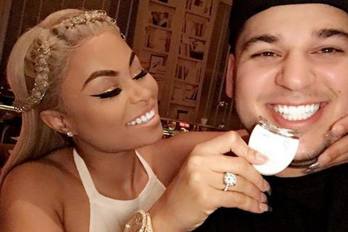 SURPRISE! Blac Chyna and Rob Kardashian Are Getting A New Reality Show