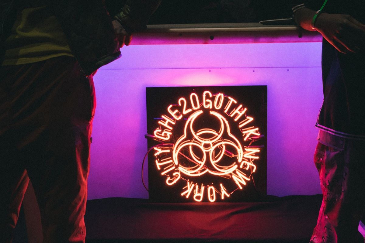 Peep Ian Isiah's Photo Diary From Ray-Ban x Boiler Room's GHE20G0TH1K Party