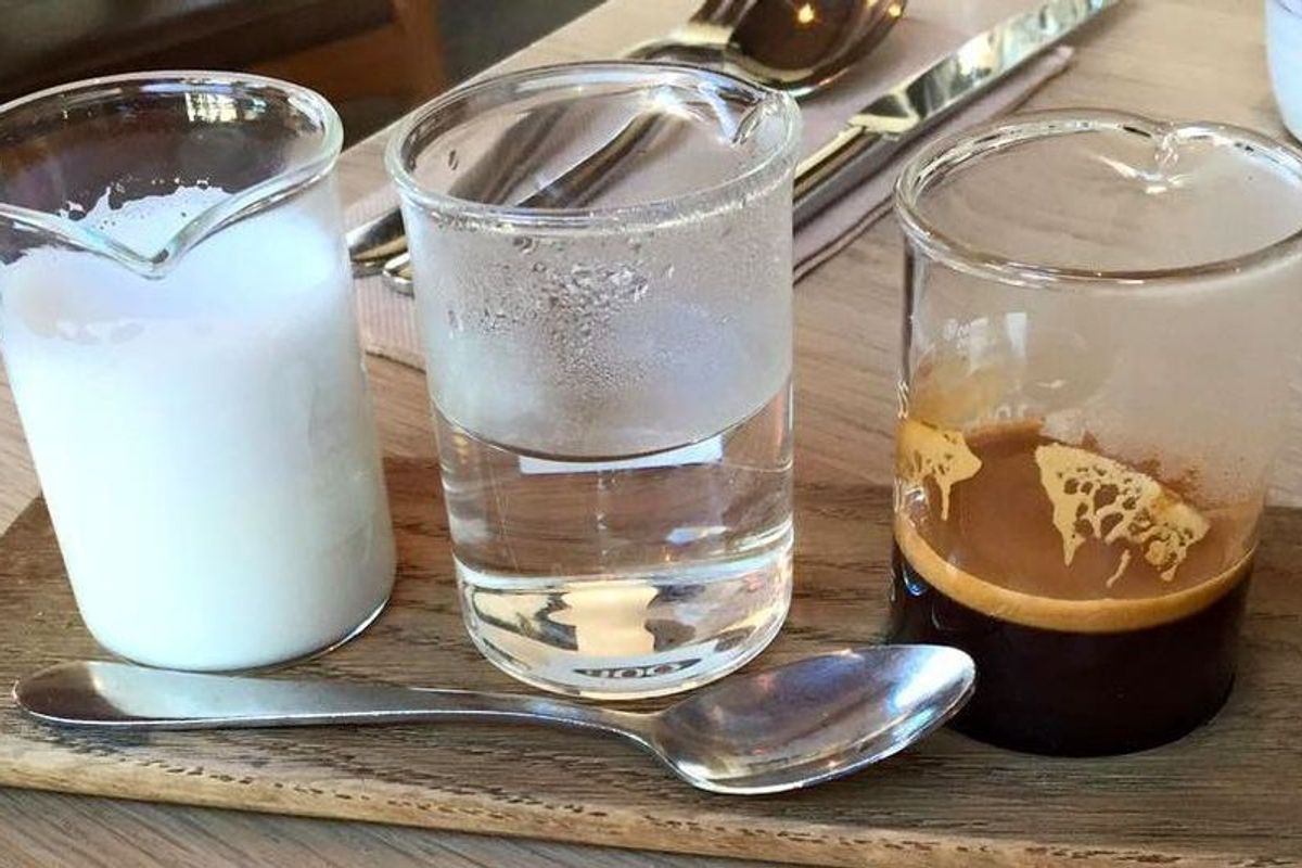 """Deconstructed"" Coffee Is Now A Thing"