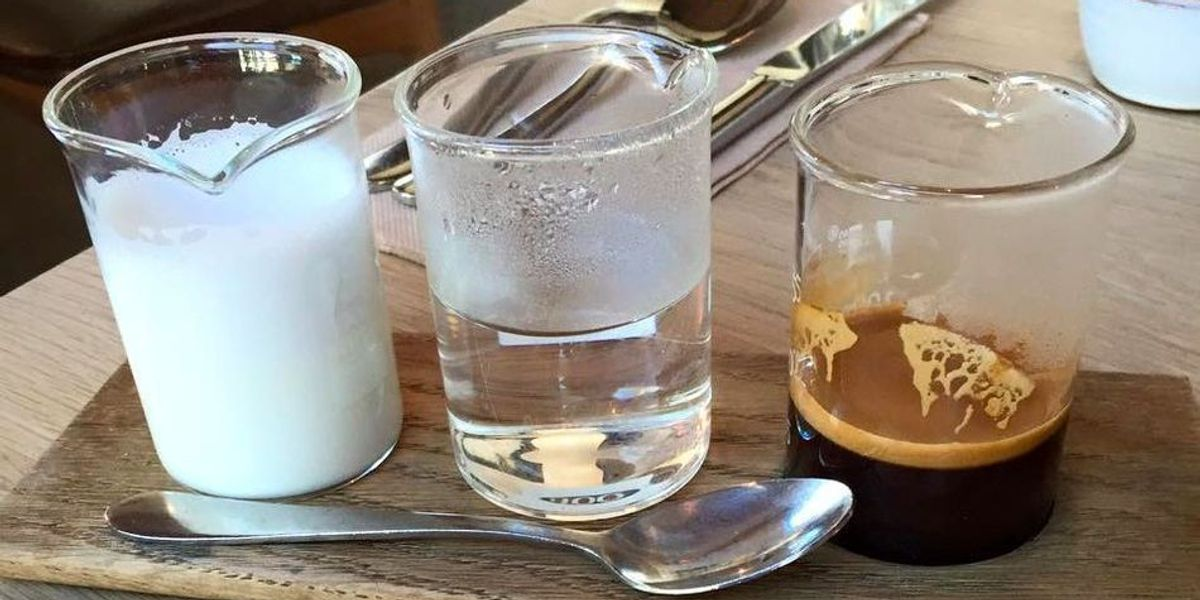 """""""Deconstructed"""" Coffee Is Now A Thing"""