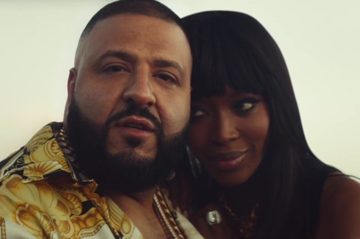 DJ Khaled Rides Off Into The Sunset With Naomi Campbell in New Apple Music Ad