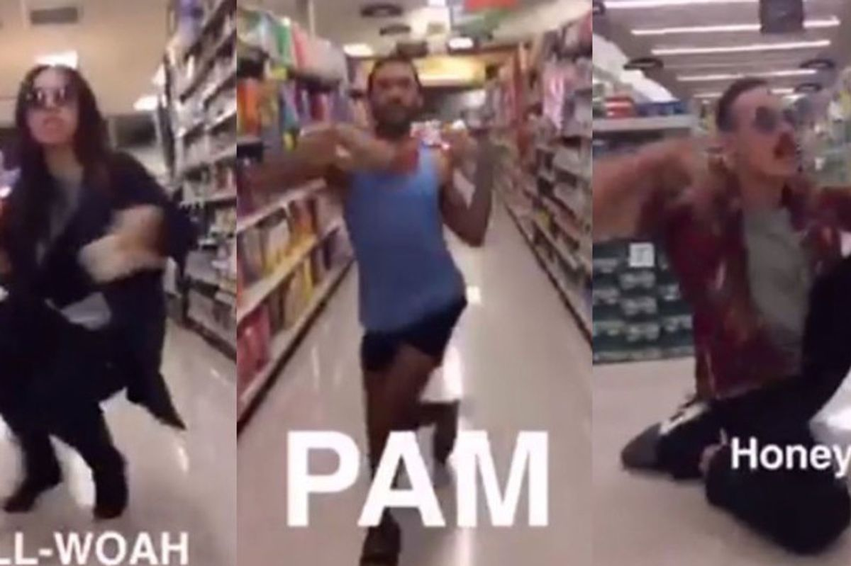 Watch This Viral Video of Voguers Gone Wild In The Aisles of A Supermarket
