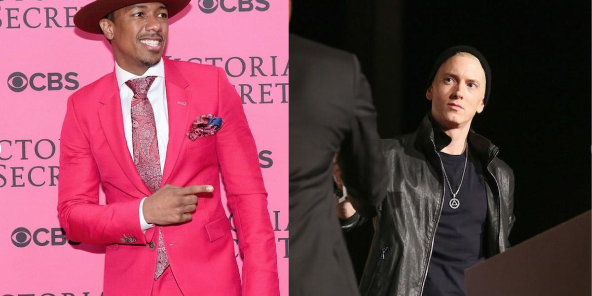 Nick Cannon Has Challenged Eminem To A $100,000 Rap Battle