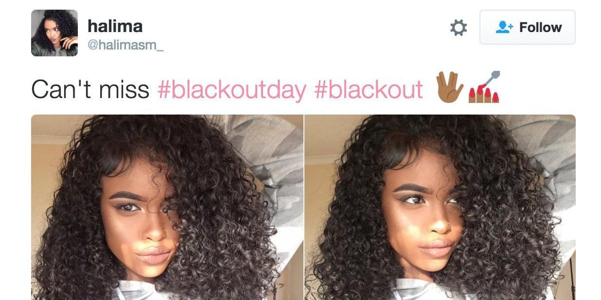 Twitter Celebrates Black Beauty With #BlackOutDay