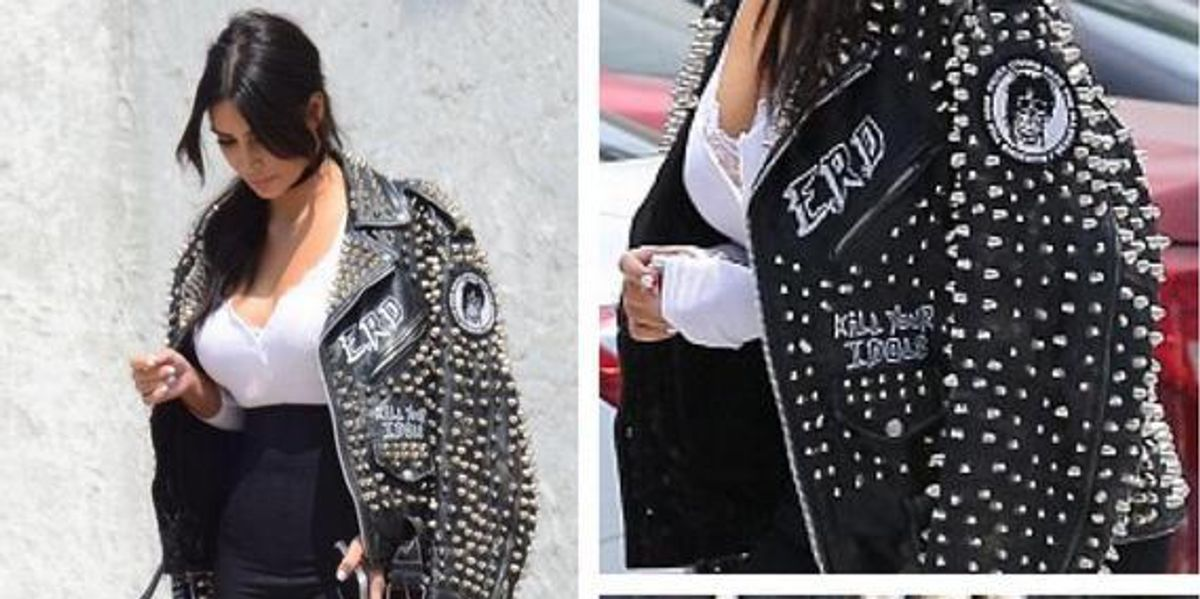 Designer of Kim K's Kill Your Idols Jacket Goes On Instagram Tirade Against NYC Metal Band