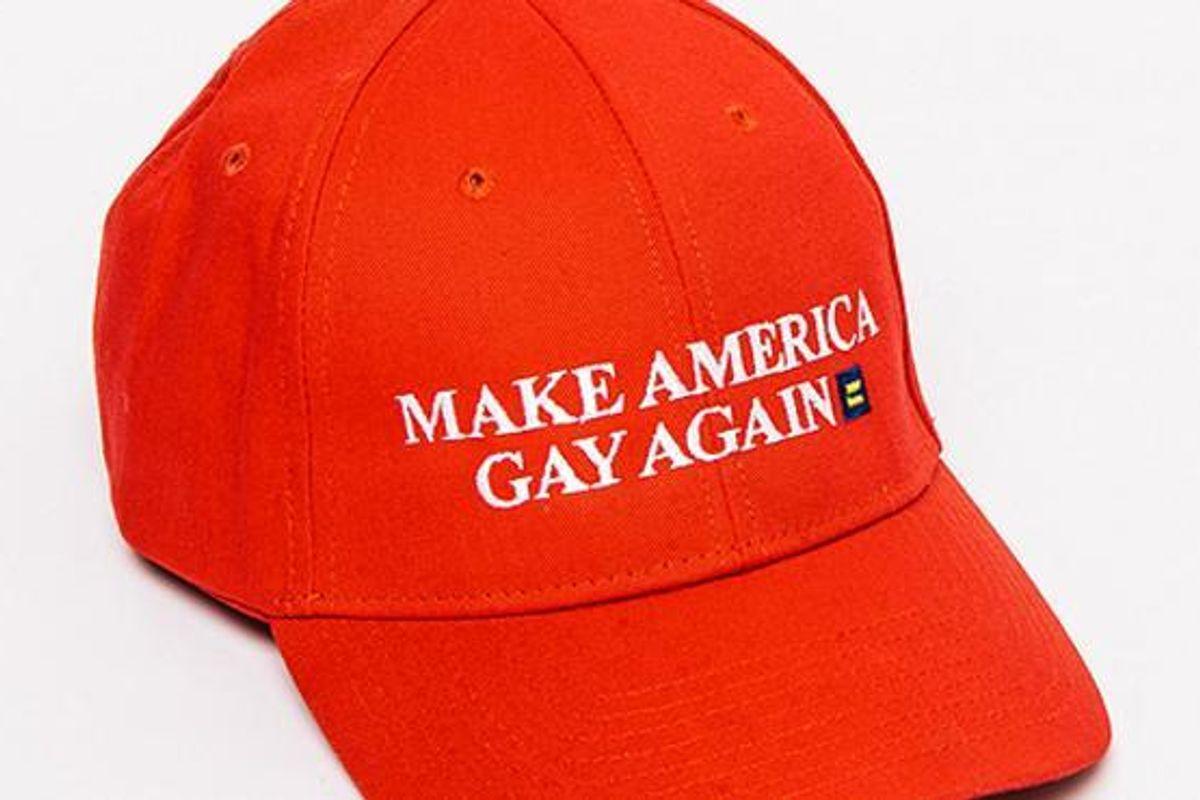 "American Apparel Is Selling An Amazing ""Make America Gay Again"" Hat"