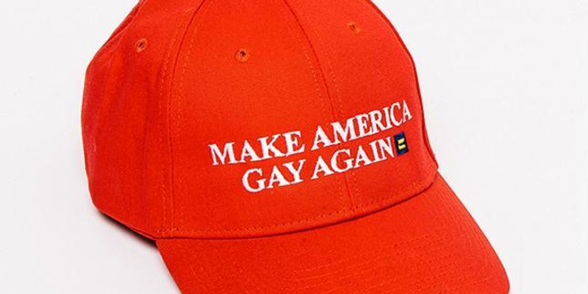 "American Apparel Is Selling An Amazing ""Make America Gay Again"" Hat"